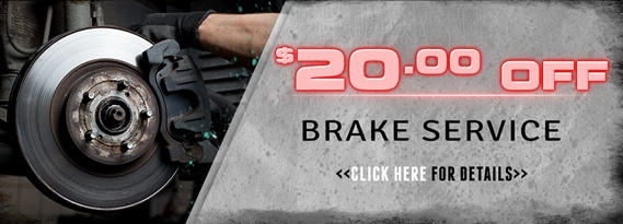 Brake repair coupon in New Kensington, PA